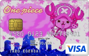 ONE PIECE VISA CARD (チョッパーデザイン)