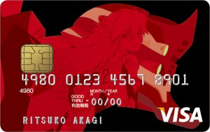 EVA style VISA CARD type:ASUKA