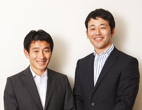 左・東京個人営業部 グループマネージャー・加藤実氏、右・同グループ 西山泰幸氏